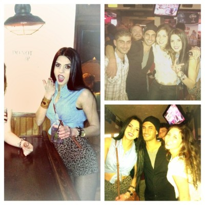 #picstitch #bar #friends #bestfriends #guys #girls #loveit #happyendings #happy #hair #eyes #drinks #drunkin #instagood #instagram #instalove #my people love my friends for being who they are real and awesome 💋💋