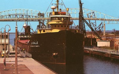 Soo Locks, Michigan