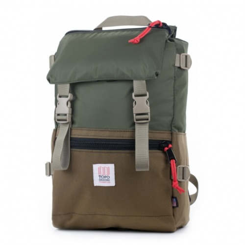 northofsoutheast:  Topo Designs Rover Pack just hit the market. This new Olive/Coyote colorway is the stand out for me. Click the link to buy or check out more colors.