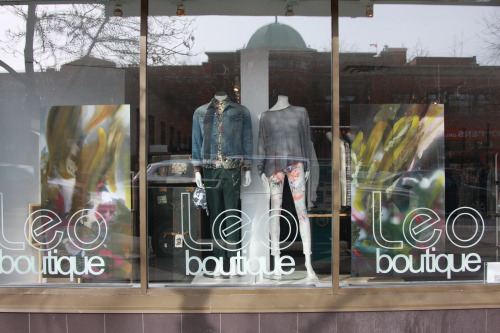 Leo Boutique (the best store ever) has revamped their window and in-store decor with paintings from my Translations installation!  It looks amazing and perfectly compliments this season's patterns and colours.  If you are in Calgary and want to find an amazing pair of jeans, a beautiful silk blouse, or some great artwork you should hit up Leo. 810b 16th Ave SWCalgary AB  tel (403) 410-9236   info@leoboutique.com  www.leoboutique.com