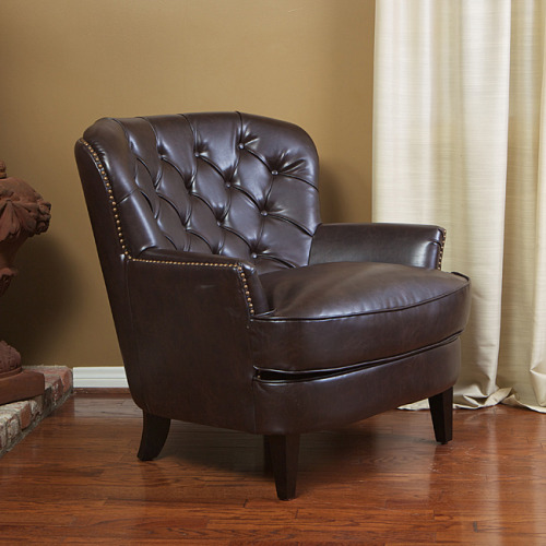 I just bought this chair to watch TV like a distinguished gentleman of great import. Hopefully it's not hideous in person.