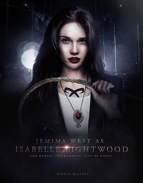 Isabelle Lightwood - Poster [X]