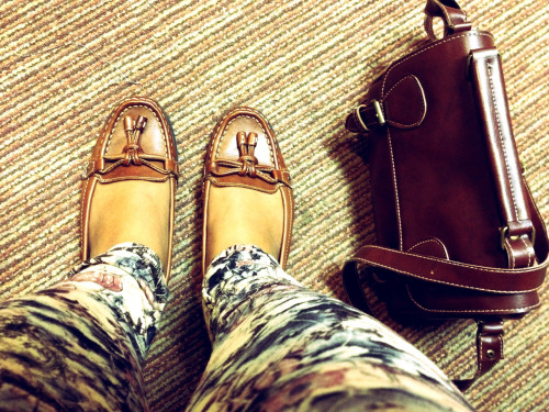Office outfit of the day! Love my new Vintage Shoes from Mark & Spencer :)