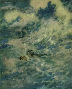 "Edmond Dulac, ""The Little Mermaid"""
