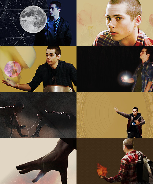"derekstilinski:  AU: MAGIC STILES   ""they say he started out as just human… and then someone threatened his wolves."""