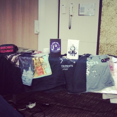 tmisource:  Check out this @MortalMovie merch on the way, including the Hot Topic clothing line, t-shirts, stationery products and more!