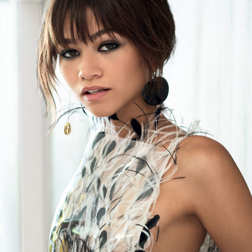 Zendaya Actress African American Mario Testino Vogue Magazine July 2017 Fashion divine beauty divinebeauties