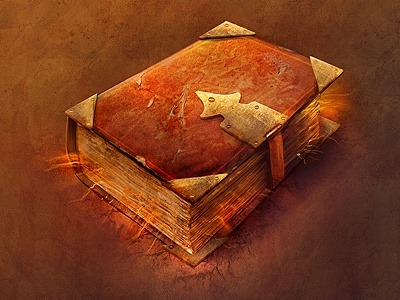 ebookfriendly:  Magic book / created by Rafał Urbański http://bit.ly/119eHh3