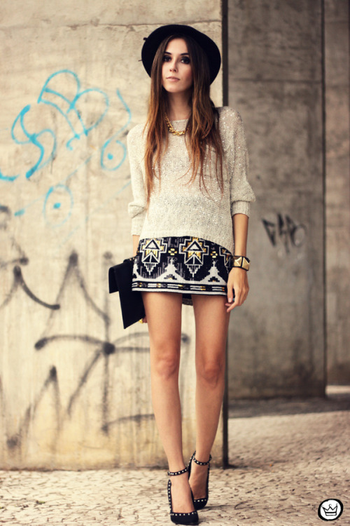 the-streetstyle:  Look du jour: ancient lovevia fashioncoolture