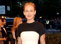 CELEBRITY: Leelee Sobieski at the 2013 Met Ball.