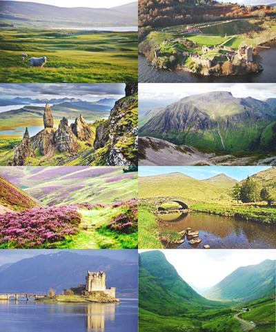 beautifulroyals:  best things about britain: the scottish highlands.
