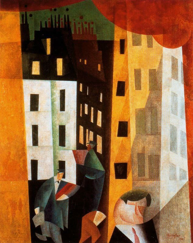 Lyonel Feininger, Architecture II, 1921 (via german-expressionists:)