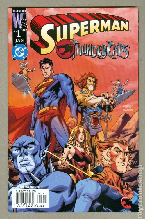Superman/Thundercats #1, January 2004