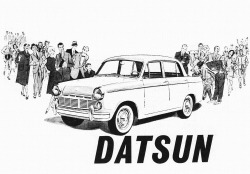 1962 Datsun… a Japanese car?!  They'll never catch on here! ;)