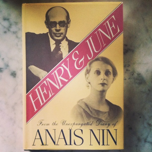 When life gives you lemons, you go out & buy first edition books. #anaisnin #henry&june (at Inside My Heart)