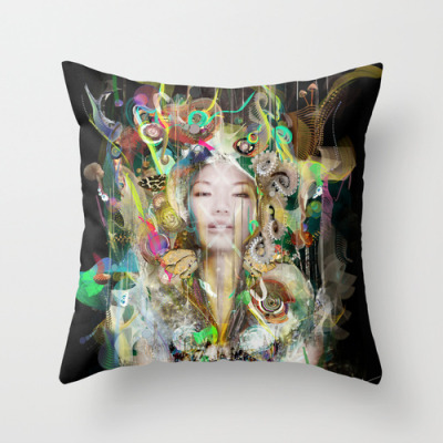 Stalactite New Throw Pillow now available at : Link