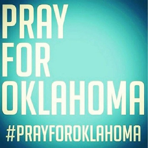 These pictures from Oklahoma are unsettling. Prayers and thoughts are going out to everyone in that area. #prayforoklahoma