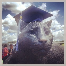 The #UNH Wildcat wishes everyone GOOD LUCK and CONGRATULATIONS! #UNH13  (at The UNH Wildcat)