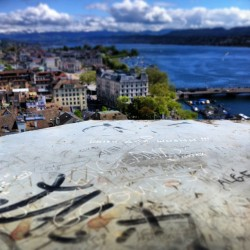 Always with the graffiti :-) #zurich #switzerland #suisse  #schweiz