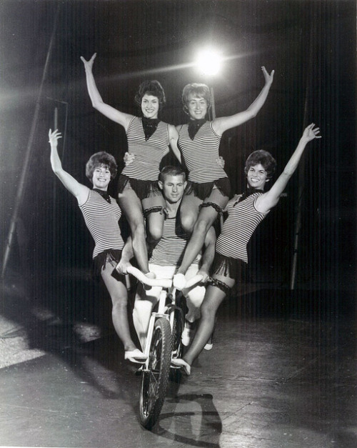 1965 Florida State University Student Circus by retro-space on Flickr.