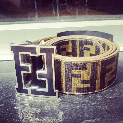 collectivestatus:  *NEW* Fendi Belt Waist 32-34 for $250! #CollectiveStatus #Fendi  (at Collective Status Boutique)
