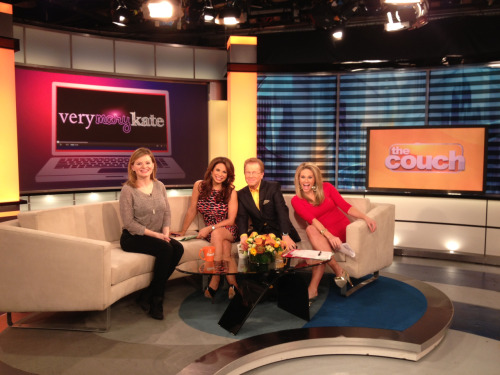 "Elaine Carroll AKA Very Mary-Kate interviewed on CBS NY's ""Live from the Couch"" this morning. Video later today."