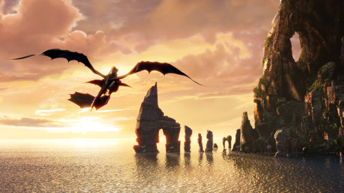 howtotrainyourdragon:  Defy the odds and fly.