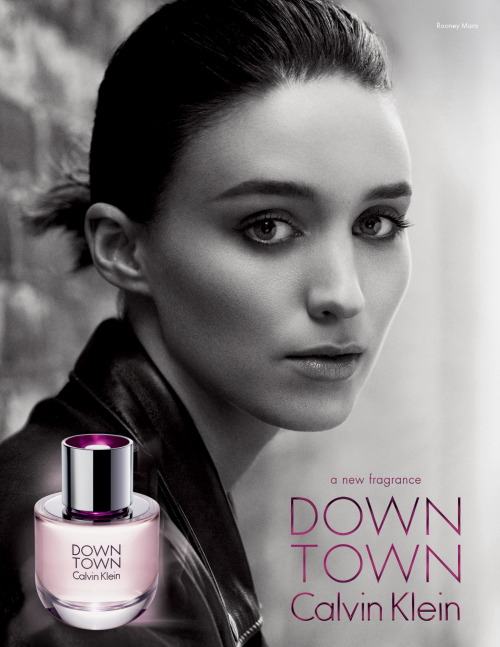 Rooney Mara as the beautiful face of @CalvinKlein's new Downtown fragrance
