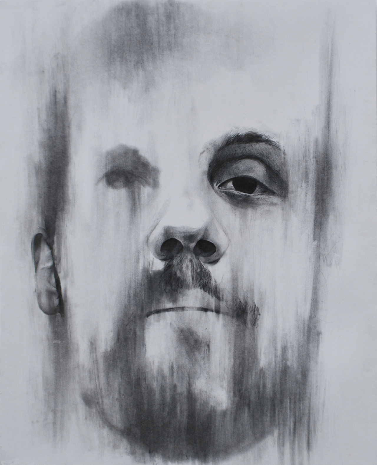 Brandon (from the series We Are Constellations)30 in. x 40 in.Graphite on Illustration BoardNaomi Nakazato