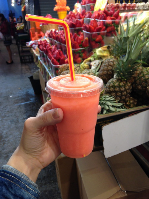 gettingahealthybody:  Fruit juice = best thing on earth.