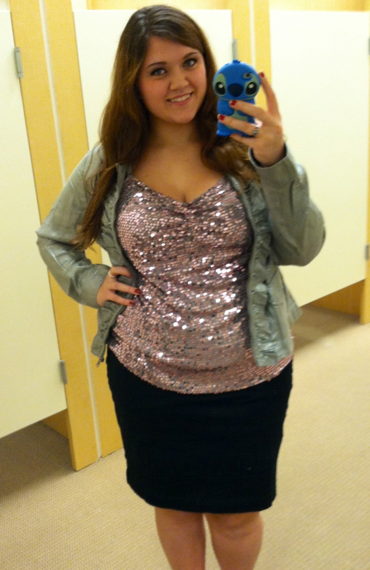 "lovelyfatties:  Allison W from North Dakota, 19 years old, 5'9"", size 18/20 and proud of my body. All these lovely ladies on here are a true inspiration. Personally I say thank you for being so awesome (:"