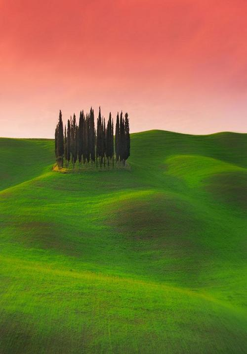 0mnis-e:  Chromatic and imaginary visions of Tuscany.., By Edmondo Senatore