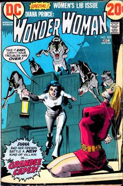 "The controversial 1972 ""women's liberation"" issue of Wonder Woman, written by the great Samuel R. Delany. It was published months after the launch of legendary feminist magazine Ms., which forever changed the discourse on gender politics."