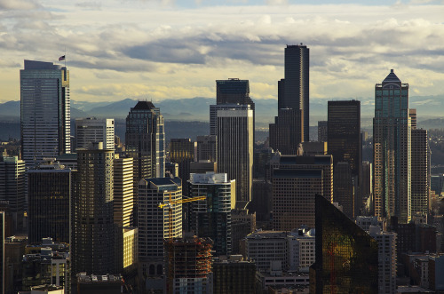 Downtown Seattle (by philippe*)