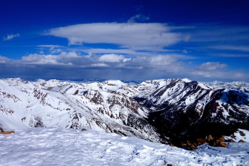 Behold the beauty from the Rocky Mountains' highest peak, Mount Elbert.Photo: Bryon Powell