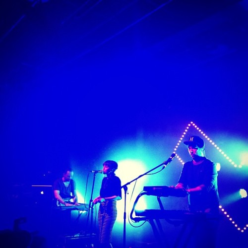 @chvrches tonight were sensational. #embankment #ica #livemusic #london  (at Institute of Contemporary Arts)