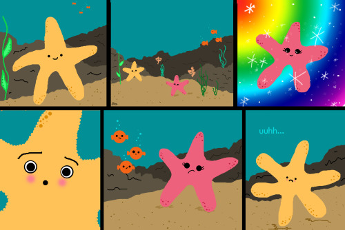 rebeccaannecorbin:  flustered starfish :D