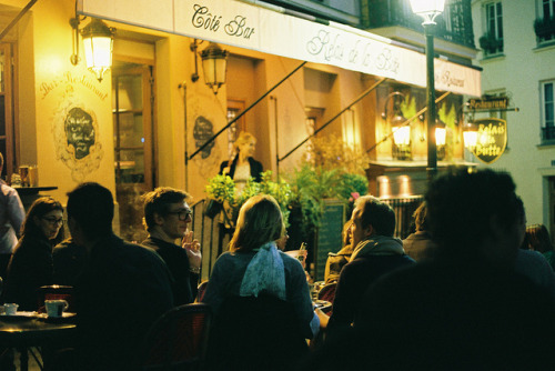 | ♕ |  Paris Cafe Bar - Relais de la Butte | by © Jason R Black | via ysvoice