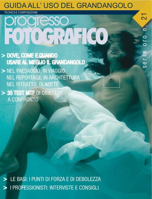 "Cover ""Serie Oro"" of ""Progresso Fotografico"" January 2013 ph: Nicola Nardomarino"