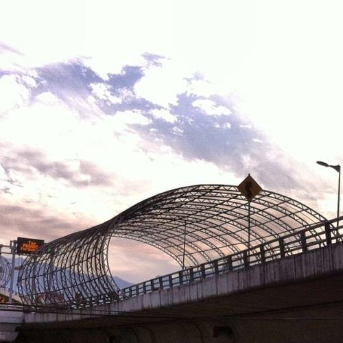 Periférico. #df #mexico #urban #city #sky #luise #instagram