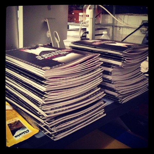 dangercock666:  This is what 70+ zines looks like #womenwarriors