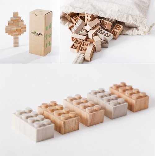 jaymug:  Mokurokku Wooden Lego Blocks