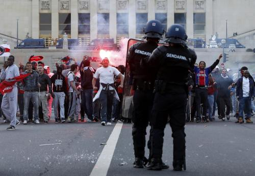 PSG parade hit by violence. Click here for the full story.