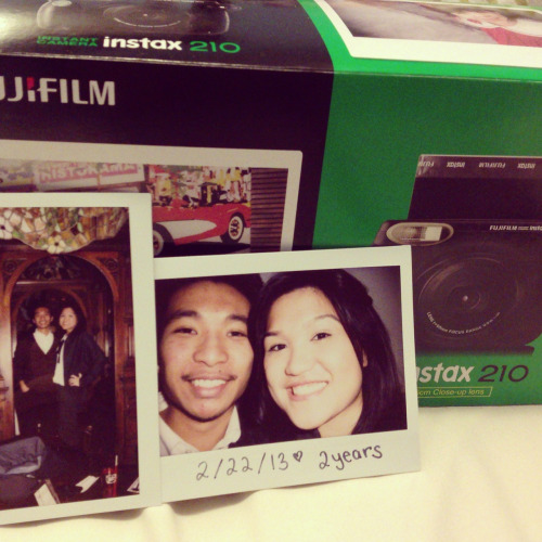 53/365: part 2, Paul gave me the instax fujifilm 210 after I have been lusting for an instant camera for soooo long! It's an amaging camera, I love it