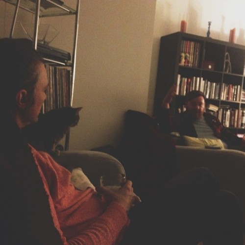 Saturday night chat about kids, cats, apple and Taylor swift #vscocam