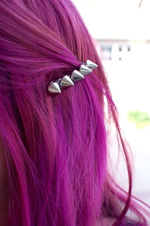 pink hair magenta hair hair clip colored hair dyed hair scene hair scene girl emo hair scene alternative pretty cute teen style