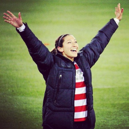 Christen you're gorgeus #ChristenPress #USWNT