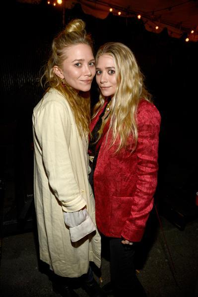 Mary-Kate Olsen and Ashley Olsen attended the Rolling Stones concert at the Echoplex in Los Angeles on April 27, 2013.
