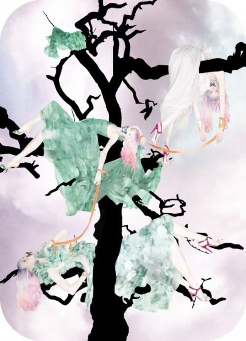 verbnoun:  (via Nick Knight's Haute Death for W Magazine | Trendland: Fashion Blog & Trend Magazine)