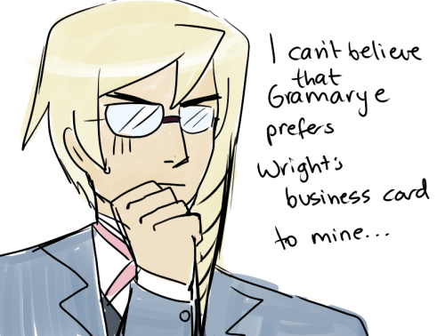 "Just realised that Kristoph reminds me an awful lot of Patrick Bateman from American Psycho…so heres a thing""I can't believe Bryce prefers Van Paten's card to mine…"""